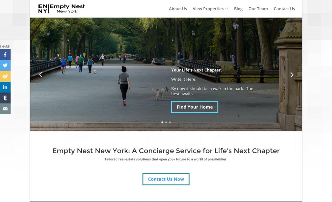 Empty Nest NY (via SkyTemple Digital Agency)